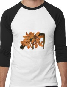 Singing Amaryllis Men's Baseball ¾ T-Shirt