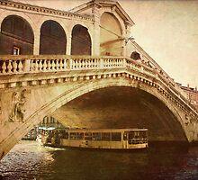 Ponte di Rialto by SylviaCook