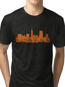 Sucka Free Orange! Tri-blend T-Shirt