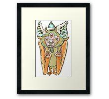 The Cult Bat Framed Print