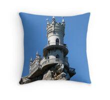 "Decorative castle "" Swallow's Nest ""    Throw Pillow"