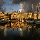 Senglea Reflections by Ronald cox
