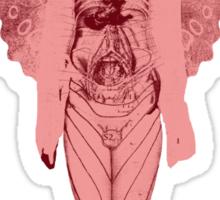 love and gravity - pink version Sticker