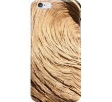 Weathered olive trunk iPhone Case/Skin