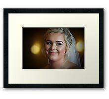 Bonnie Bride Framed Print