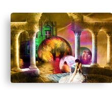 Lament of the Time Traveler's Woman Canvas Print
