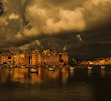 Senglea  overcast by Ronald cox