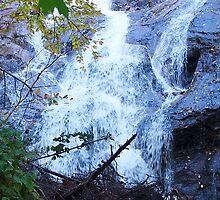 Beulach Ban Falls by Jann Ashworth