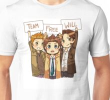 Chibi Team Free Will Unisex T-Shirt