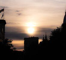 West Lafayette Sunset by lbballard