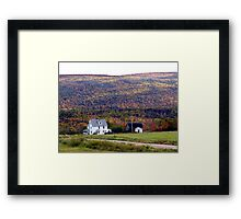 Cape Breton Homestead Framed Print