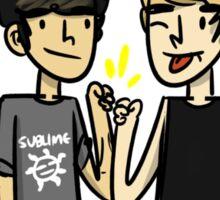de boys (t-shirt) Sticker