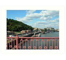 Kiev - Bridge Art Print
