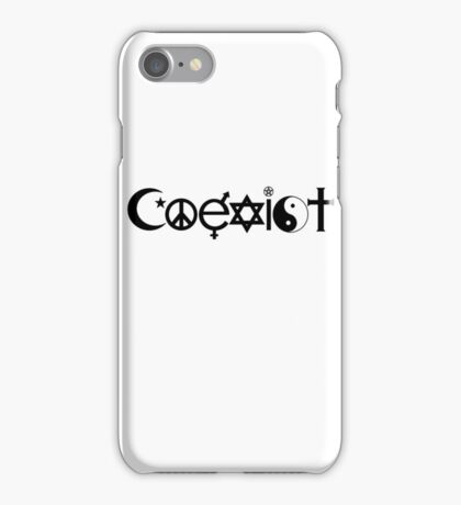 Coexist iPhone Case/Skin