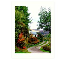 French River,Cape Breton Art Print