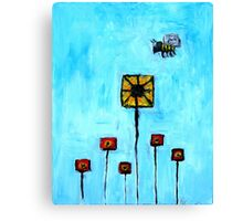 Building Blocks from Life Canvas Print