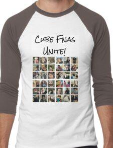 Cube Fnas Unite! Men's Baseball ¾ T-Shirt