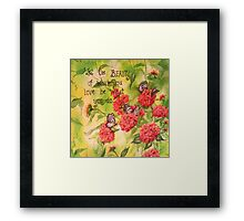 BEAUTY IS... Framed Print