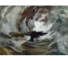 Snowstorm at sea after Turner Photographic Print