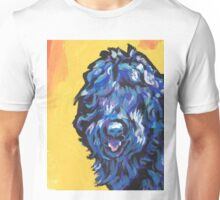 Black Russian Terrier Bright colorful pop dog art Unisex T-Shirt
