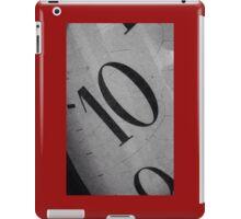 10 O'Clock iPad Case/Skin