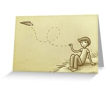 Paperplane Greeting Card