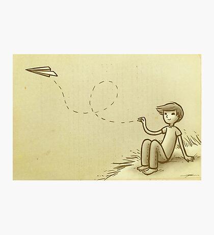 Paperplane Photographic Print