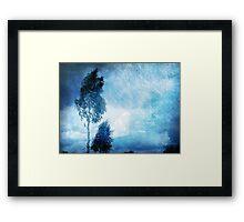 Blue Nostalgia Framed Print