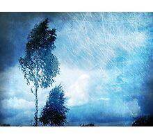 Blue Nostalgia Photographic Print
