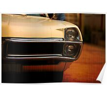 cool classic car detail Poster