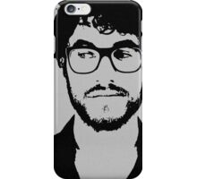Darren with beard and glasses iPhone Case/Skin