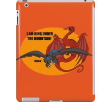 Toothless and Smaug - Dragon Crossover iPad Case/Skin