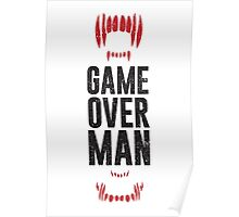 Game Over Man - Alternate Poster