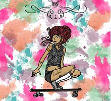 Skate Free by noisome-art