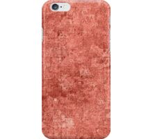 Terra Cotta Oil Painting Color Accent iPhone Case/Skin