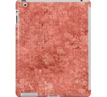 Terra Cotta Oil Painting Color Accent iPad Case/Skin