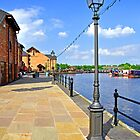The Promenade, Barton Marina by Rod Johnson
