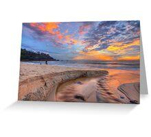 Sunrise at Sunshine Beach Greeting Card