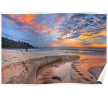 Sunrise at Sunshine Beach Poster