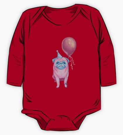 Party pug One Piece - Long Sleeve