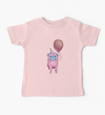 Party pug Baby Tee