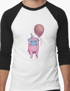 Party pug Men's Baseball ¾ T-Shirt