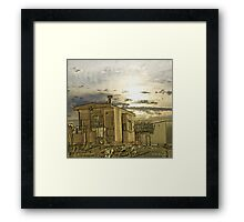 From Days of Old Framed Print