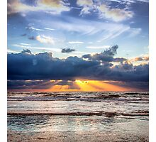 Beautiful Dutch Summer Sunset Photographic Print