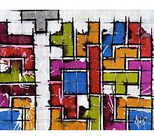 Life as Tetris Photographic Print