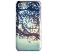 Sunset trees ttv photograph iPhone Case/Skin