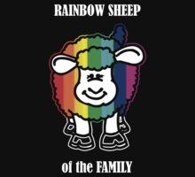 Rainbow Sheep of the Family Baby Tee