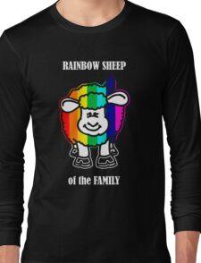 Rainbow Sheep of the Family Long Sleeve T-Shirt