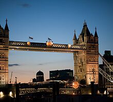 Tower Bridge at Night by Chesil