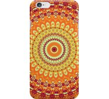 Orange Spice Mandala iPhone Case/Skin